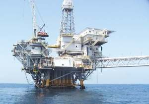 California offshore oil rig