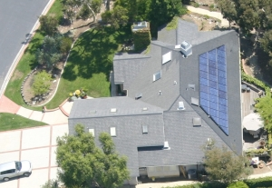 Solar powered mansion in Huntington Beach with near $0.00 in electrical costs.